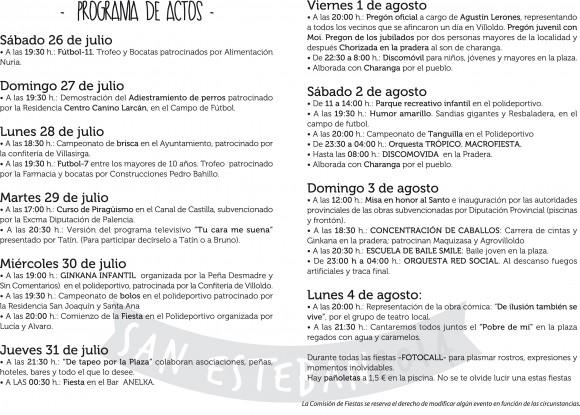 programa villoldo 2014