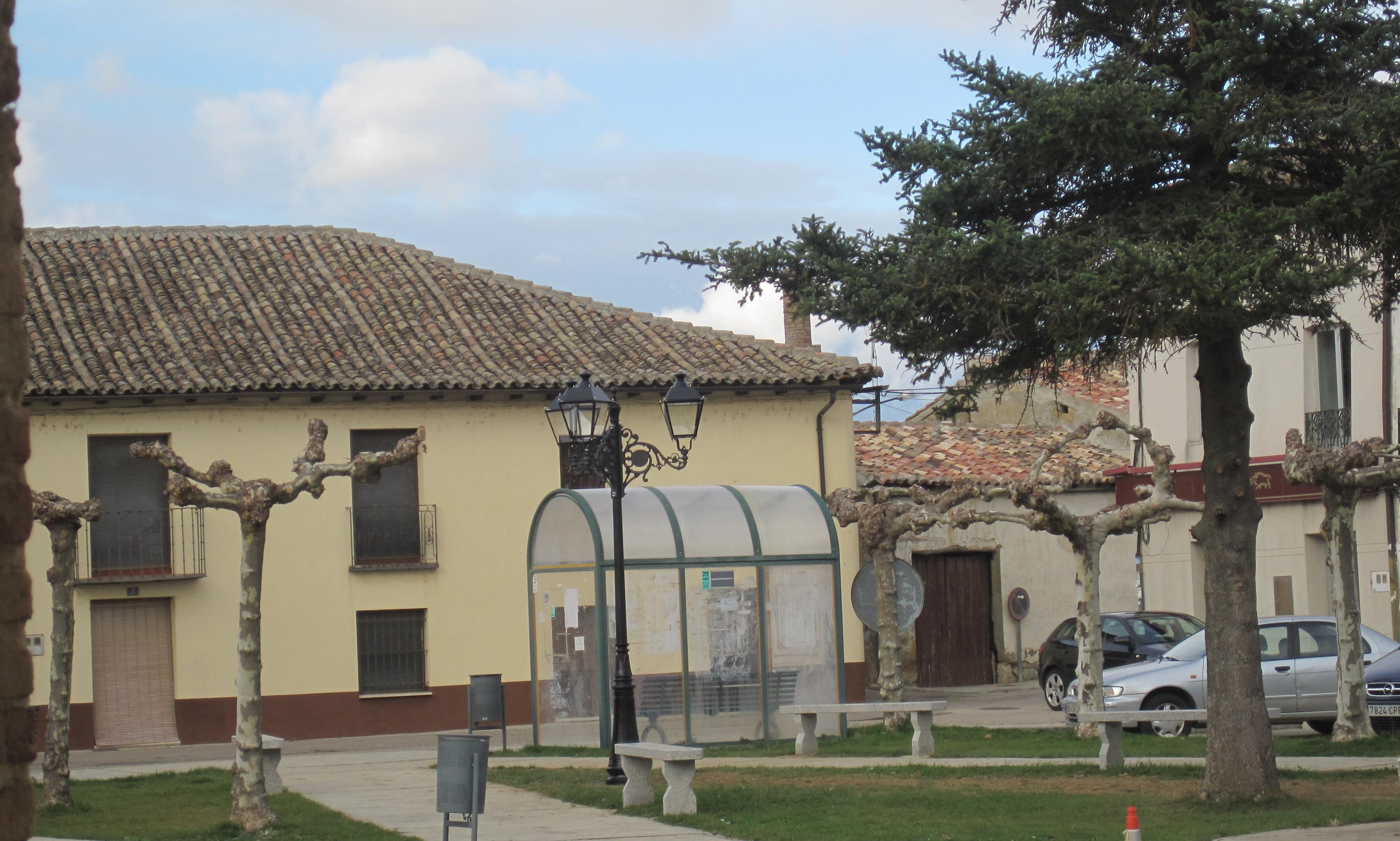 Nueva imagen de la plaza de Villoldo